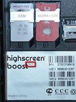Отличия Highscreen Boost Rev.B от ранних версий